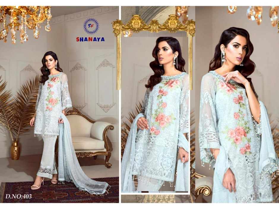 Shanaya fashion rose festive collection beautiful wear designer Salwar Kameez Collection