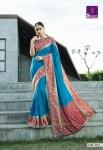 Shangrila overseas vol 2 designer printed silk sarees Catalog