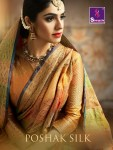 Shangrila poshak silk exclusive party wear silk sarees collection