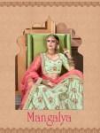 Tejasvee Mangalya heavy embroidered wedding collection bridal lehanga