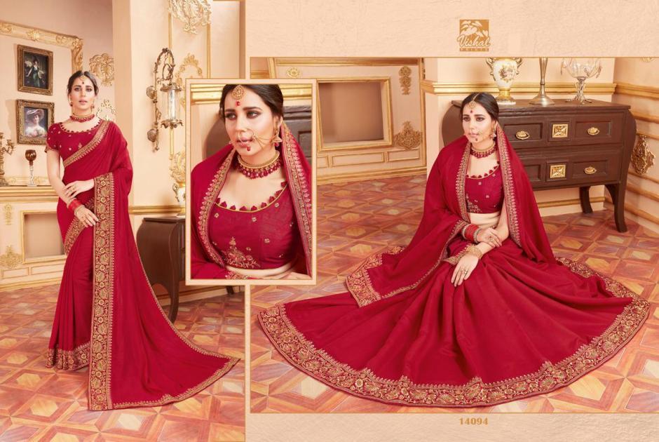 Vishal sarees aykon beautiful heavy collection of sarees