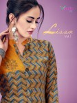 Vrunda tex lissa rayon designer Kurties Catalog ready To Wear