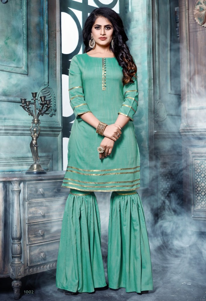 Banwery adaa designer Kurties party wear collection