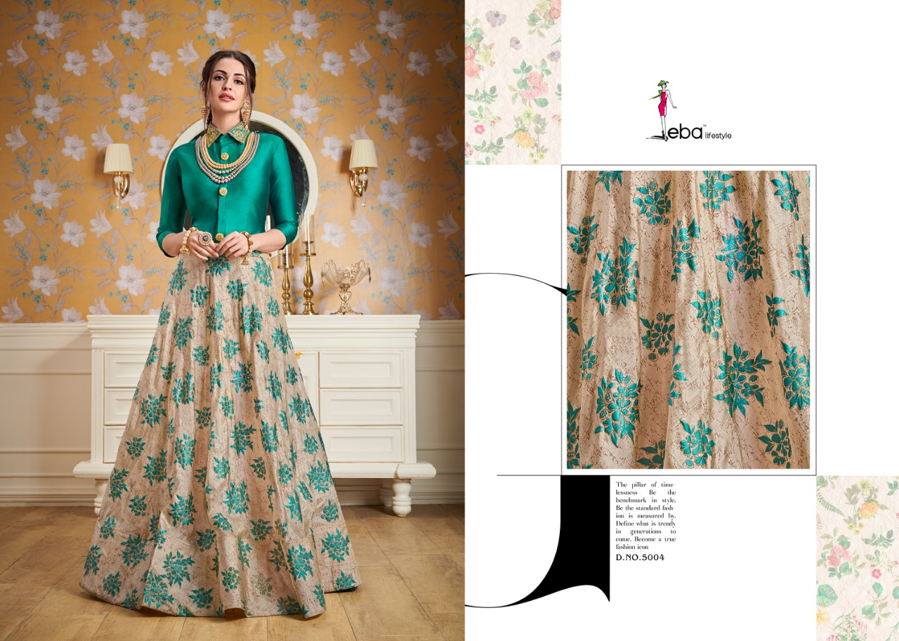 9df3dadcd1 Eba lifestyle western vol 3 party wear Readymade gowns collection