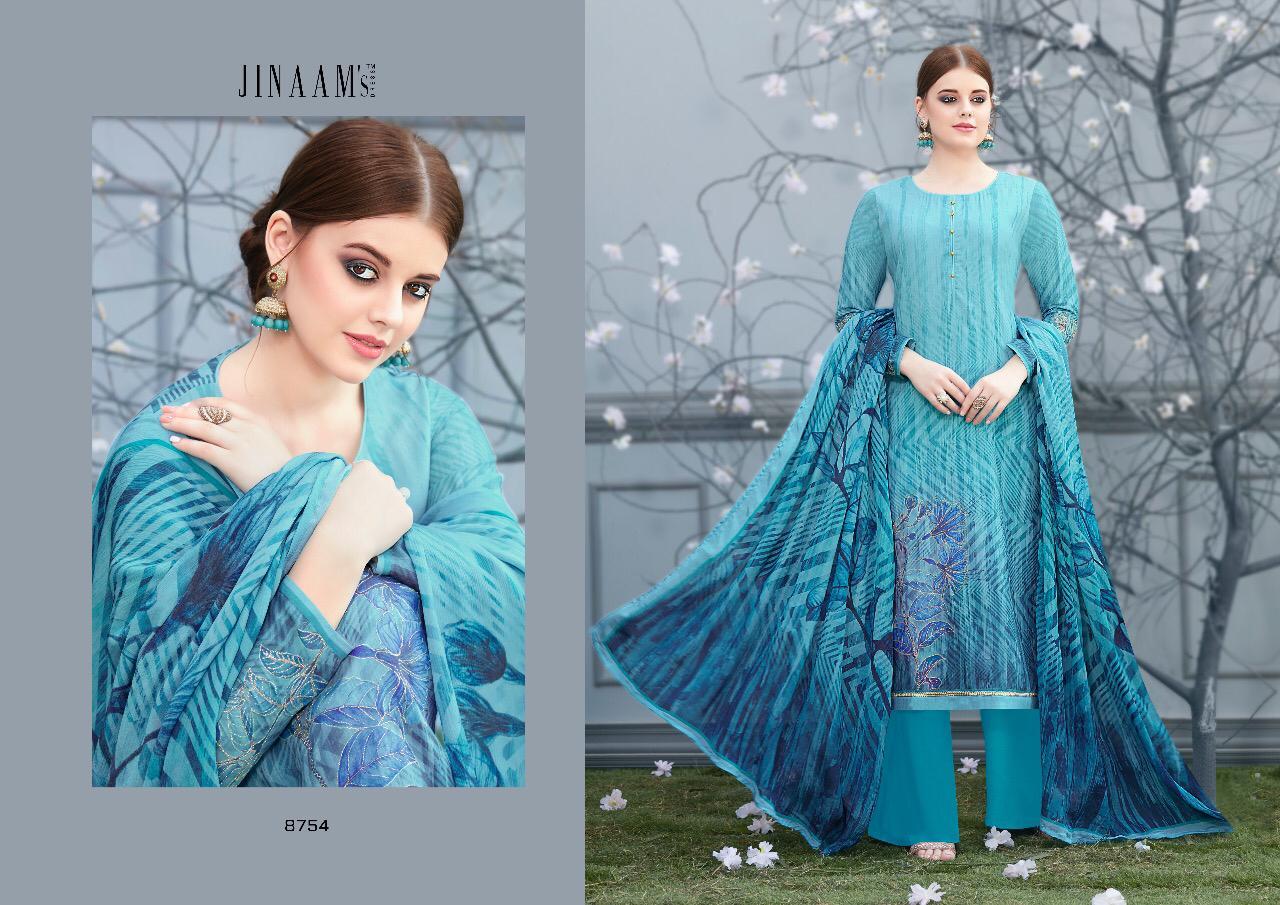 7a38b79abd Jinaam dress zahab digital printed colourful Salwar Kameez Collection