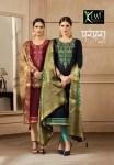 kessi parampara vol 3 beautiful fancy silk kurtis collection