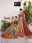 kessi vrunda beautiful  ethnic silk fancy  sarees