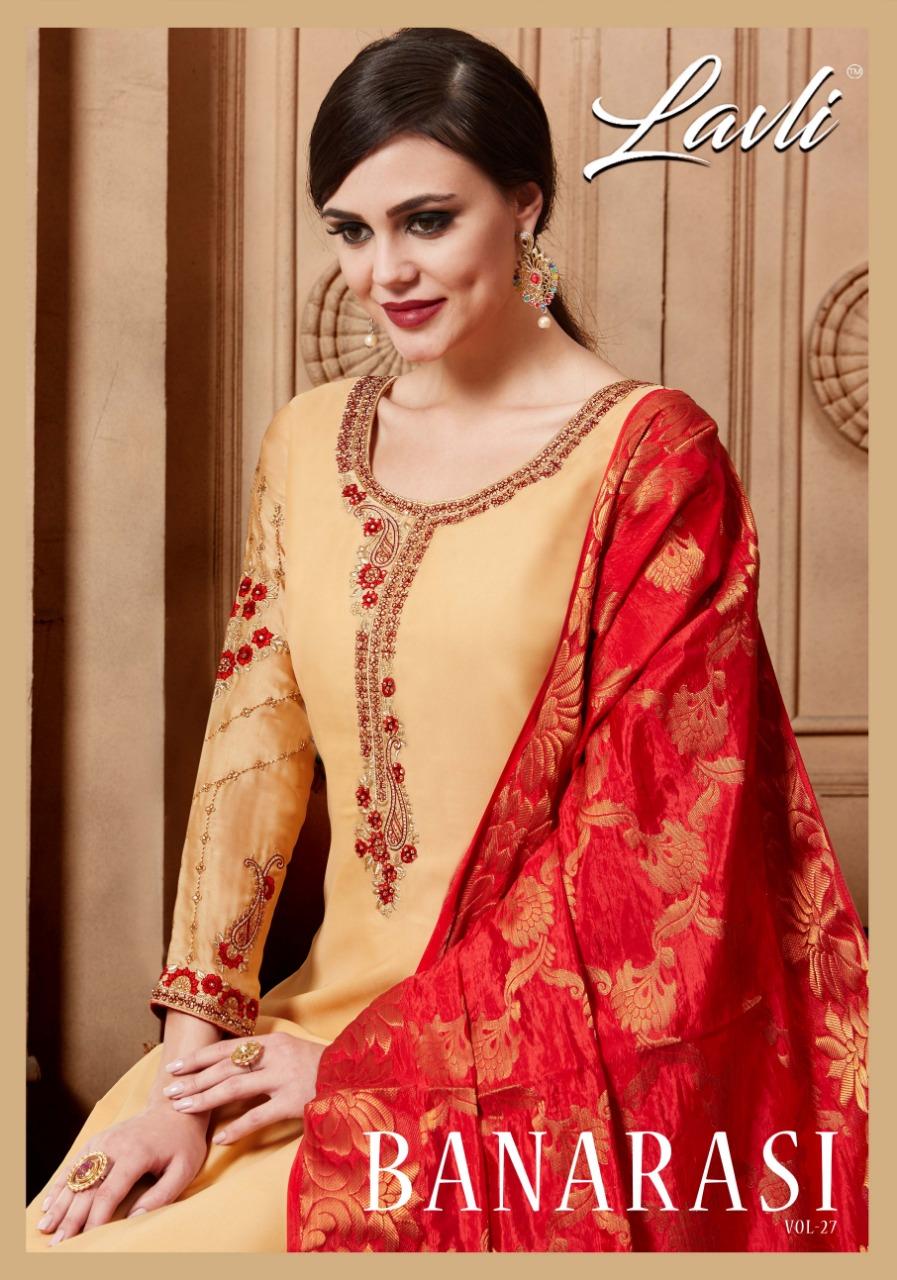 Lavli Fashion lavli vol 27 banarasi dupatta Salwar Kameez Collection