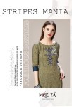 mrigya clothing stripes mania casual embroided colorful kurtis