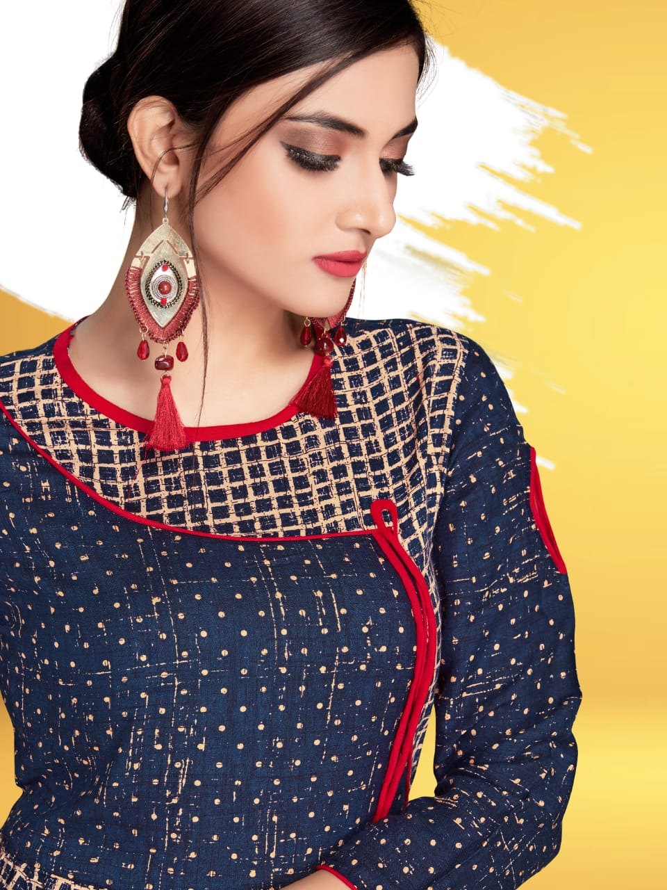 Pahervesh nazakat vol 3 fancy printed ready To Wear Kurties Collection