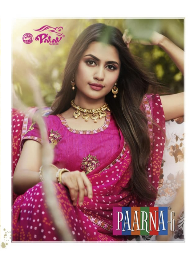 Palav fabrics paarna vol 6 traditional Wear Indian sarees Collection