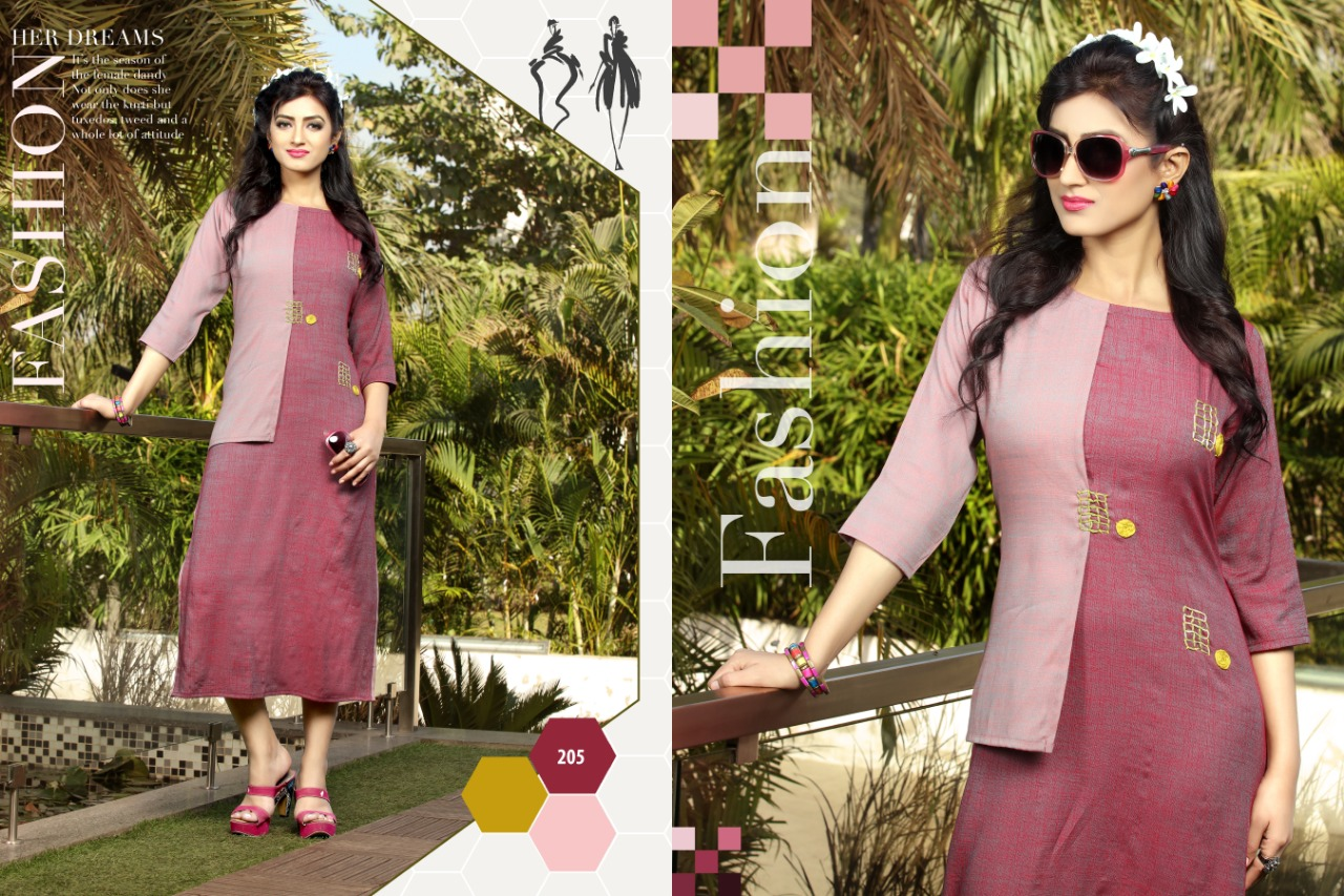 8880b46c33 Rungberry Ananta Rayon Straight Kurties Collection At Wholesale Rate