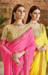 Saroj Evergreen beautiful Colours traditional Wear sarees Collection