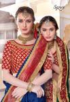 Saroj zubeida Traditional wear fancy heavy sarees collection