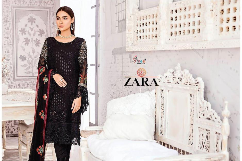Shree Fabs zara Georgette designer party wear salwar Kameez Collection