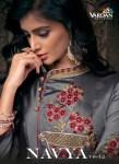 Vardan designer navya vol 12 Long flair gown type party wear kurties Collection
