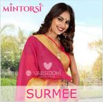 Varsiddhi Surmee colourful sarees collection at wholesale rate