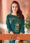 Vink rio elegant colourfull fancy kurties collection