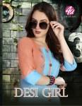 4u fashion desi girl colorful casual wear kurtis collection