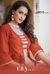 eba lifestyle eba vol 17 casual wear fancy kurtis collection