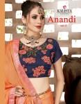kalishta fashion aanandi 4 beautiful fancy collection of sarees