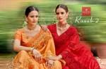 kalishta fashion ruaab 2 beautiful fancy sarees wear collection
