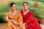 kalishta fashion ruaab 2 beautiful fancy sarees wear collection