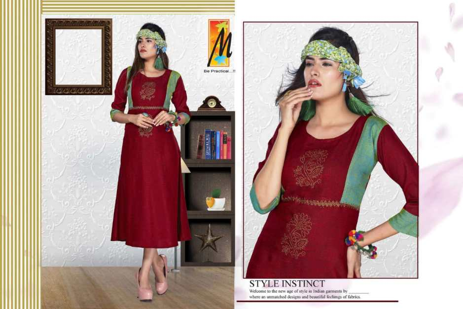 master lotus colorful casual wear kurtis at reasonable rate