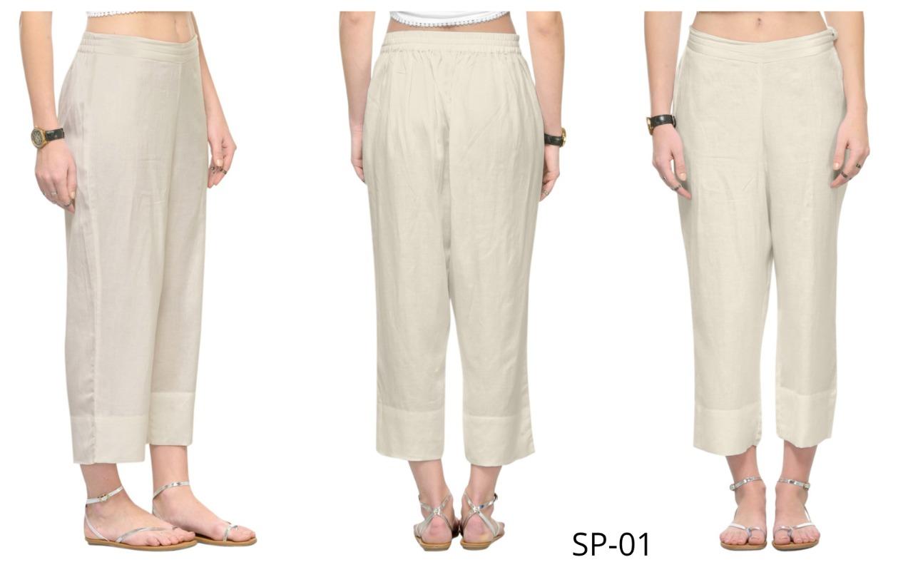 mrigya straight colorful casual wear pants catalog