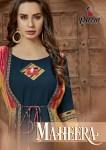 parra studio maheera colorful fancy wear kurtis collection