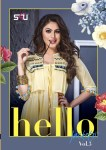 s4U hello jackets fancy collection of kurtis