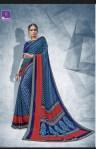 shangrila nainika chiffon colorful casual wear sarees catalog