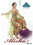 sTF alisha vol 10 casual wear fancy gowns catalog at reasonable rate