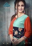 STF kalista colorful casual wear kurtis collection at reasonable rate