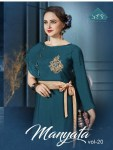 sTF manyata vol 20 beautiful designer ethnic gowns outfit collection