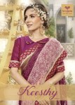 triveni keesthy 2 colorful fancy collection of sarees