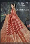 triveni sambhavi beautiful designer sarees collection