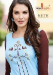 tunic house neith with printed plazzo casual wear kurtis catalog