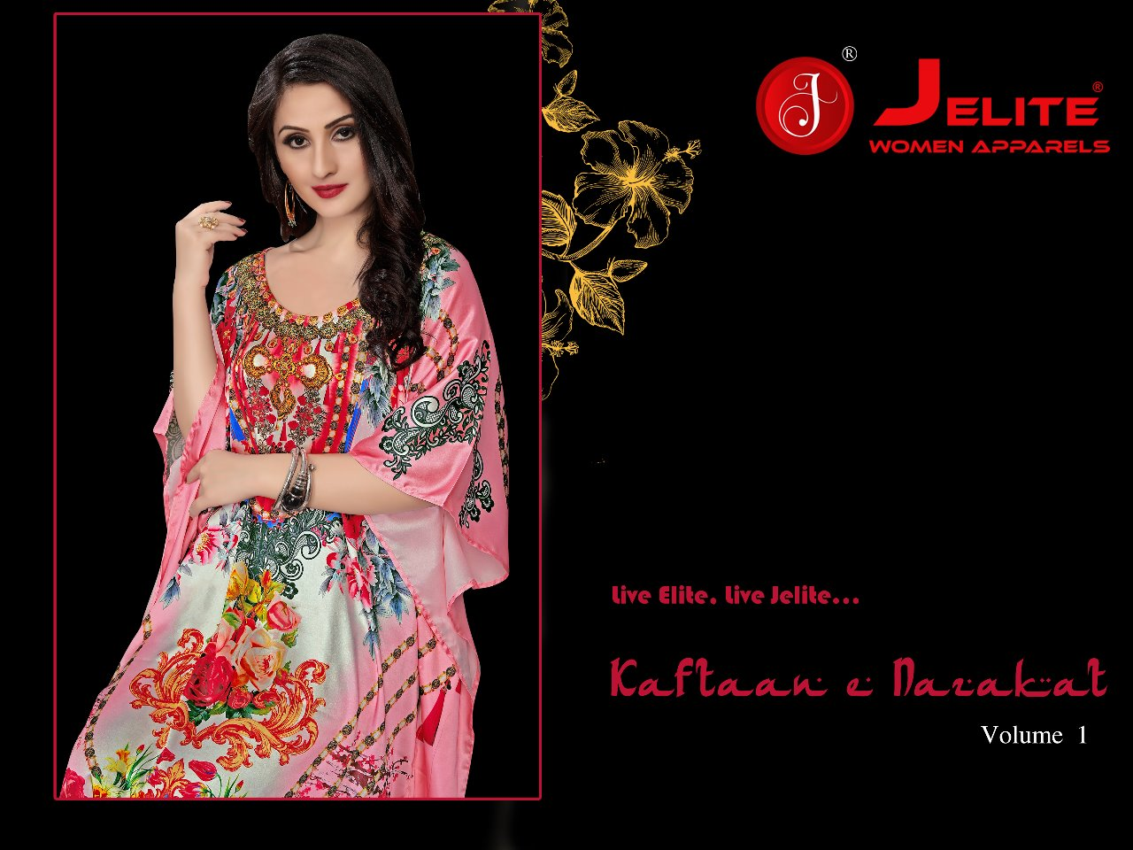 jelite kaftan e nazakat colorful ready to wear kaftans collection