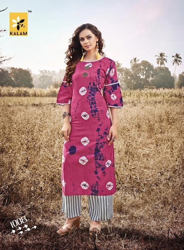 kalam banno colorful fancy wear kurtis at reasonable rate
