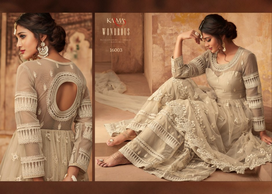 karma trendz series colorful designer collection of outfits