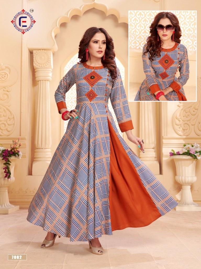 mitali fashion elina muskan fancy kurtis catalog at reasonable rate