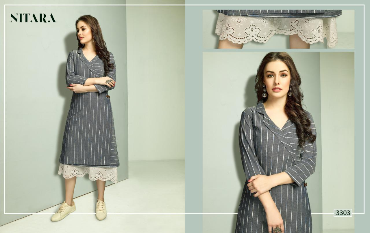 nitara reena beautiful fancy collection of kurtis