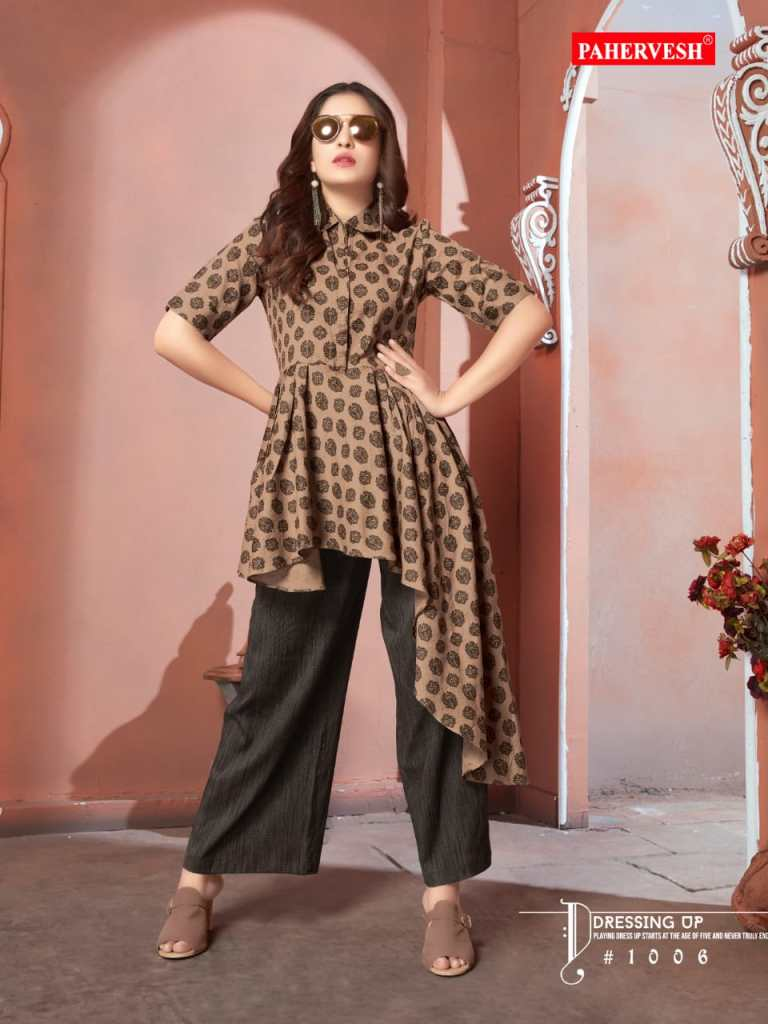 pahervesh chataka pataka fancy ready to wear kurtis at reasonable rate