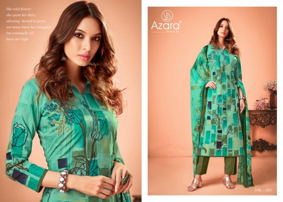 radhika azara jasmine colorful casual wear salwaar suits collection