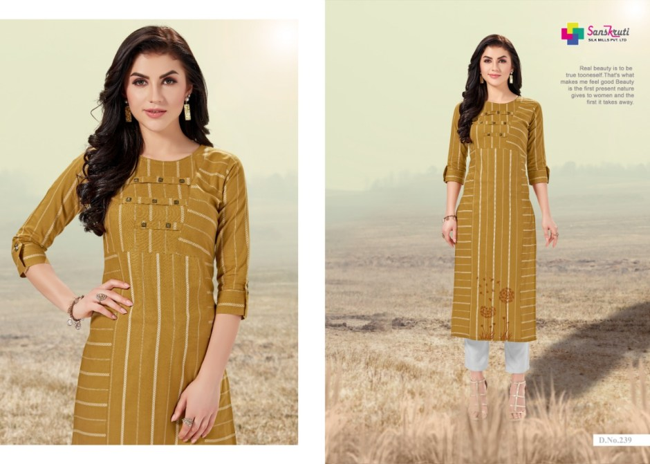 sanskruti jennifer colorful ready to wear kurtis at reasonable rate