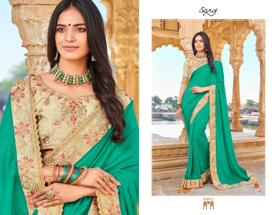 saroj star light 3 colorful fancy collection of sarees