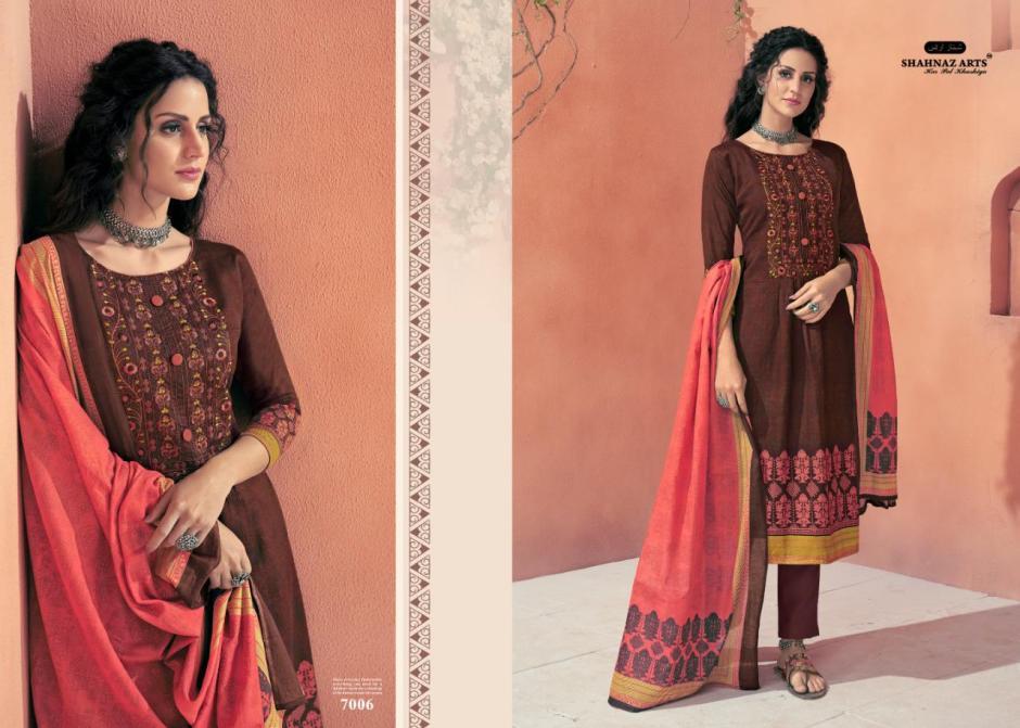 shahnaz arts avnoor colorful designer collection of salwaar suits