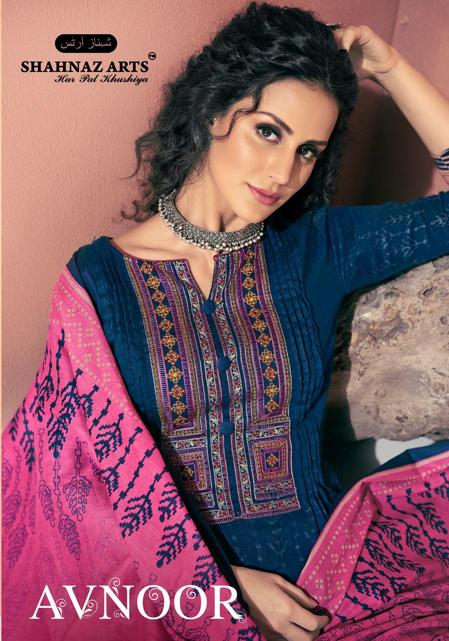 shahnaz arts avnoor colorful designer collection of salwaar suits