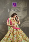 shangrila kachana cotton vol  15 colorful casual wear cotton sarees catalog